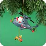 Click here to enlarge image and see more about item CARL59: JOLLY CHOPPER #6 MMORN1001E Helicopter Reindeer OPERATION SANTA 2001 Commanche Apache