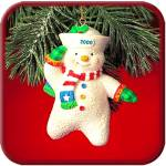 '00 MMORN1006 Salty The Snowman Saluting Sailor 5th Anniversary Operation Santa Squid