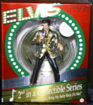 Click here to enlarge image and see more about item CARL8: 1996 #2 ELVIS Musical : Santa Bring My Baby Back / Presley