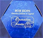Click here to enlarge image and see more about item CARL95: LAUGHS AHOY BOB HOPE OPERATION SANTA MMORN992 NAVY SAILOR SQUID 1999 GOLFER