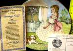 Click to view larger image of TUESDAY'S CHILD A CHILD'S BLESSING P.Cooper CrownWare Eng China Hamilton Girl Puppy (Image2)