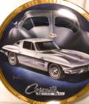 Click here to enlarge image and see more about item CCP2: 1963 CORVETTE Marc Lacourciere Classic Corvettes '63 Silver Grey Split Window Coupe
