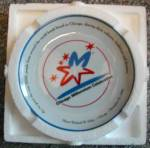 Click to view larger image of Chicago Millennium Plate Mayor Richard M. Daley Bradex Bradford Exchange Limited 5000 (Image2)