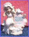 Click here to enlarge image and see more about item CORAL4: CORAL KINGDOM #533009 ATHENA MERMAID 4 in PLAQUE Enesco Darryl Hannah Splash Tropical