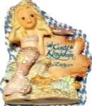 Click to view larger image of CORAL KINGDOM #533009 ATHENA MERMAID 4 in PLAQUE Enesco Darryl Hannah Splash Tropical (Image2)