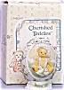 Click to view larger image of 1997 CHERISHED TEDDIES #203017 EASTER EGG 3 DIMENSIONAL BEAR + 2 CHICKS Enesco (Image2)