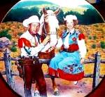 Click to view larger image of ROY ROGERS & DALE EVANS Classic TV Westerns Fifties 50's Milnazik Trigger (Image2)