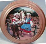 Click to view larger image of ROY ROGERS & DALE EVANS Classic TV Westerns Fifties 50's Milnazik Trigger (Image4)