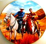 Click here to enlarge image and see more about item CTV3: LONE RANGER & TONTO Classic TV Westerns Milnazik Indian Clayton Moore Jay Silverheels