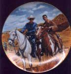 Click to view larger image of LONE RANGER & TONTO Classic TV Westerns Milnazik Indian Clayton Moore Jay Silverheels (Image3)
