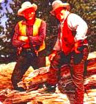 Click here to enlarge image and see more about item CTV4: BONANZA Classic TV Westerns K. Milnazik Lorne Greene Dan Blocker Ben Hoss Cartwright