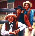 Click to view larger image of THE VIRGINIAN Classic TV Western Milnazik James Drury Doug McClure Trampas Lee J.Cobb (Image1)