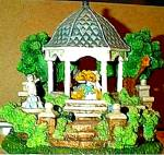Cherished Teddies Village : The Wedding Gazebo Teddie P. Hillman Mail-Order Hamilton