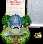 Click to view larger image of Cherished Teddies Village : The Wedding Gazebo Teddie P. Hillman Mail-Order Hamilton (Image2)