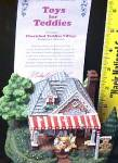 Click to view larger image of Cherished Teddie Village - Toys For Teddies P. Hillman Hamilton Mail-Order (Image6)