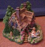 Click to view larger image of Cherished Teddies Village : A PICNIC FOR TWO Teddie P. Hillman Hamilton Mail-Order (Image2)