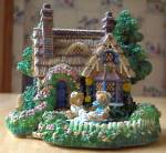 Click to view larger image of Cherished Teddies Village : A PICNIC FOR TWO Teddie P. Hillman Hamilton Mail-Order (Image4)