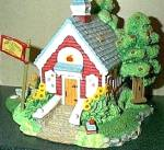 Click to view larger image of Appletree Schoolhouse Cherished Teddies Village Teddie P. Hillman HAMILTON Mail Order (Image1)