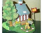 Click to view larger image of Appletree Schoolhouse Cherished Teddies Village Teddie P. Hillman HAMILTON Mail Order (Image2)