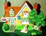 Click to view larger image of Camille's Quilt Shop :Cherished Teddies Village Teddie P. Hillman HAMILTON Mail Order (Image1)