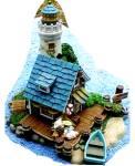 Click to view larger image of Teddie's Boat Shop : Cherished Teddies Village /Teddie P. Hillman HAMILTON Mail Order (Image1)
