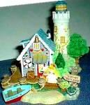 Click to view larger image of Teddie's Boat Shop : Cherished Teddies Village /Teddie P. Hillman HAMILTON Mail Order (Image4)