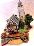 Click to view larger image of Teddie's Boat Shop : Cherished Teddies Village /Teddie P. Hillman HAMILTON Mail Order (Image6)