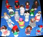Click to view larger image of DANBURY MINT porcelain DOLLS OF WORLD ROSALINDA representing ARGENTINA Set #9 (Image2)