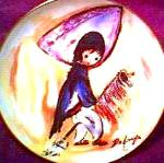Click here to enlarge image and see more about item DEGRAZIA1: My 1st Horse #1 Children@Play Degrazia Indian