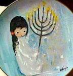 Click to view larger image of Holiday Festival Of Lights Degrazia Hannukah Channukah Artist Fairmont BRADEX Jewish (Image2)