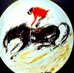 Click to view larger image of #2 BRONCO :Western / Degrazia/ Arizona Cowboy (Image1)