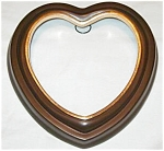 Click to view larger image of Bradford Exchange Heart Shaped Plate Holder Hanger 6 1/2 7 in LUCY GUTMANN ANGEL 3sz. (Image1)