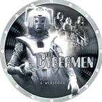 Click here to enlarge image and see more about item DRWHO3: The Doctor Who Dr. #4 CYBERMEN Series L. E. Collectors Plate Cards Inc. Chararacters