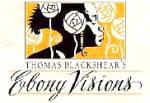 Click to view larger image of THE GUARDIAN EBONY VISIONS Thomas Blackshear 1997 Zeta Edition Retired Angel (Image2)