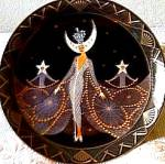 Click to view larger image of Queen of the Night Franklin Mint Royal Doulton House Erte Sevenarts Art Deco (Image6)