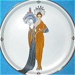 Click here to enlarge image and see more about item ERTE22: '93 Athena House Of Erte Sevenarts 7 Art Deco Franklin Mint Elegance Romain d'Tirtoff