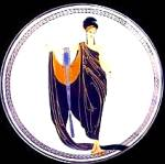 Click here to enlarge image and see more about item ERTE2: Elegance Glamour House Of Erte Sevenarts 7 Art Deco Franklin Mint