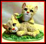 Click to view larger image of CUDDLY COUGARS ENDANGERD YOUNG'UNS Save The Earth Foundation Ruth & Bill Morehead (Image2)