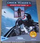 CHUCK YEAGER'S ADVANCED FLIGHT TRAINER 2.0 Electronic Arts 89 Ned Lerner Cassette Sim