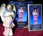 Click to view larger image of '98 CANDACE THE CAREGIVER Fontanini Club Symbol Membership Member Gift Simonetti (Image1)