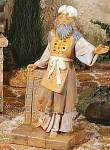 Click here to enlarge image and see more about item FON31: ADAM The High Priest  5 in Fontanini Heirloom Nativity Collection #75512 E. Simonetti
