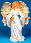 Click here to enlarge image and see more about item FONTANINI1: Francesca 59512 Angels Tuscany� 5 inch Fontanini Heirloom Nativities Collection ''03