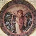 Click here to enlarge image and see more about item GARDEN2: GARDENS OF INNOCENCE PATIENCE Angel Donna Richardson Bradex 84-B10-10.8 Butterflies94