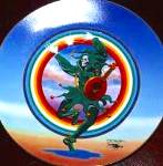 Click to view larger image of DANCING JESTER GRATEFUL DEAD STANLEY MOUSE Deadheads 60's 70's San Francisco Greatful (Image2)