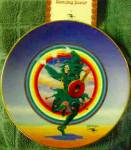 Click to view larger image of DANCING JESTER GRATEFUL DEAD STANLEY MOUSE Deadheads 60's 70's San Francisco Greatful (Image4)