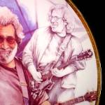 Click to view larger image of Gartlan JERRY GARCIA Black & White Study With A Touch Of Gray 8 MJ Taylor 97 Grateful (Image2)
