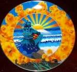 SUNSET JESTER GRATEFUL DEAD Artist STANLEY MOUSE Deadheads Psychedelic Greatful 60's