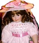 Click to view larger image of 1996 HELEN M CARR # 4 ROSALEE RETIRED Hamilton Collection Ashton Drake Porcelain Doll (Image1)