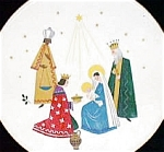 Click here to enlarge image and see more about item HEINRICH1: 3 KINGS WISE MEN MARY JESUS NATIVITY MAJI MAGI HEINRICH Caspar Melchior Balthasar