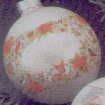 Click here to enlarge image and see more about item HM10: GLASS BALL 1980-QX204-1 GRANDMOTHER